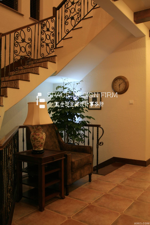美式南加州-别墅设计案例欣赏-戴金超设计